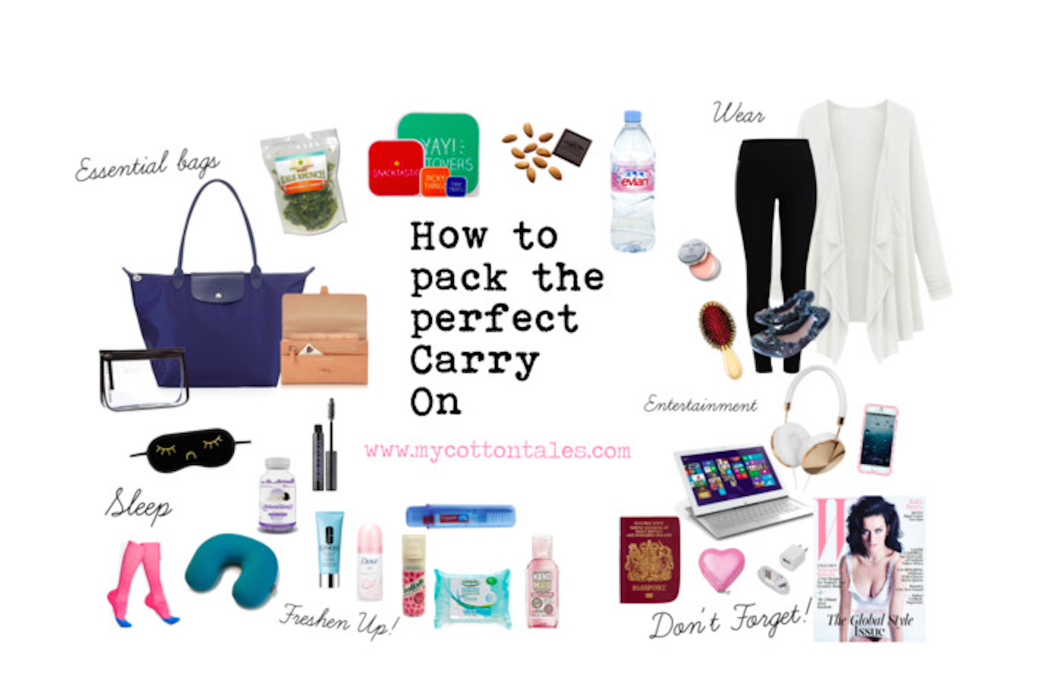 How to pack the perfect carry on How to pack a carry on suitcase video