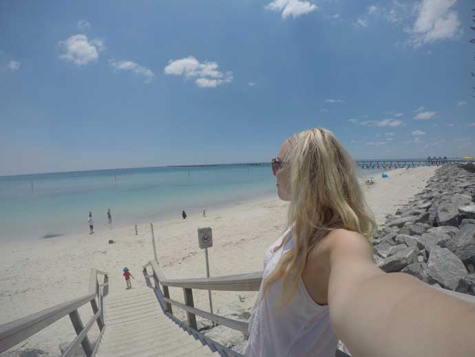 go pro photo busselton jetty