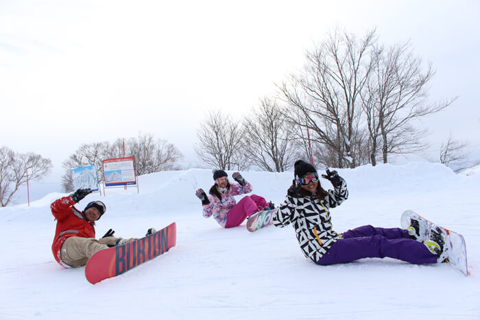 snowboarders japan