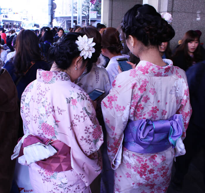 old and new japanese culture