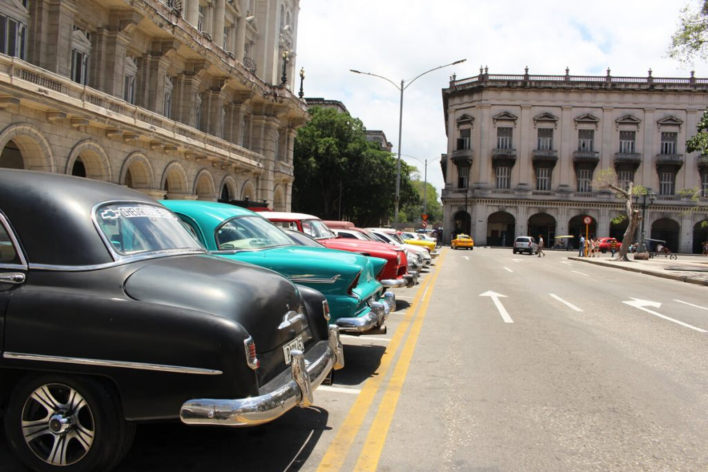 beautiful old cuban cars