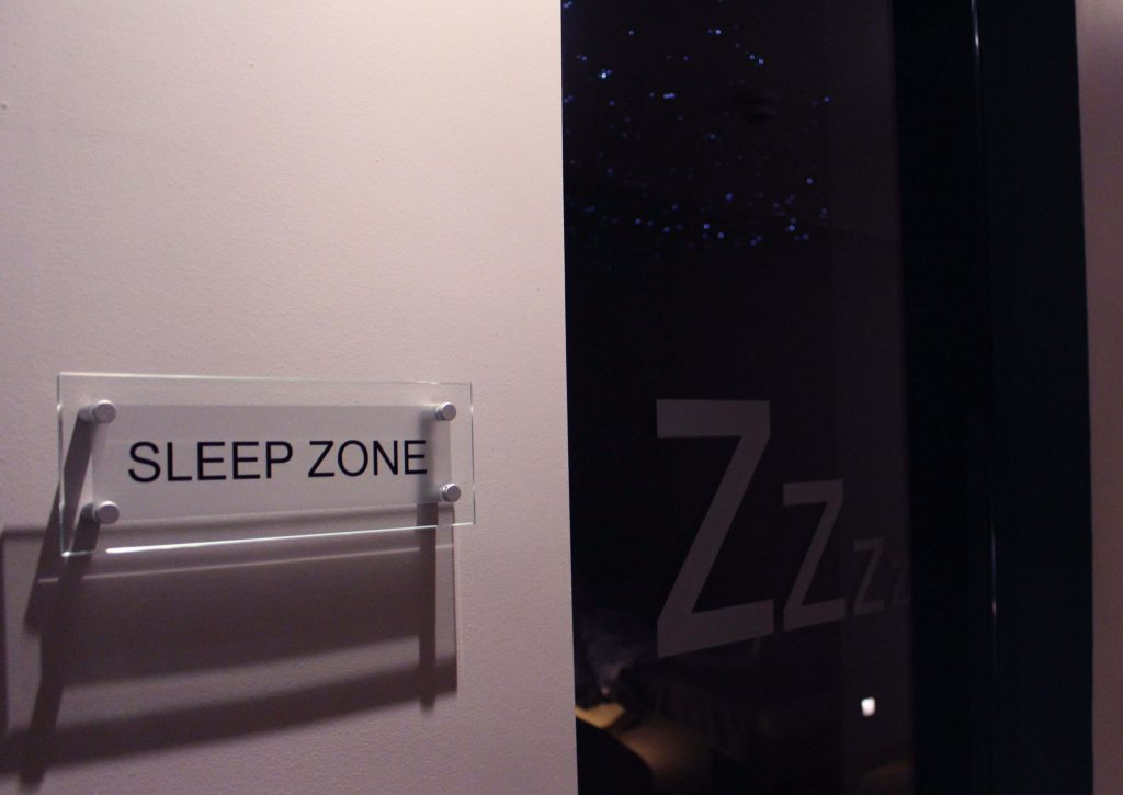sleep zone