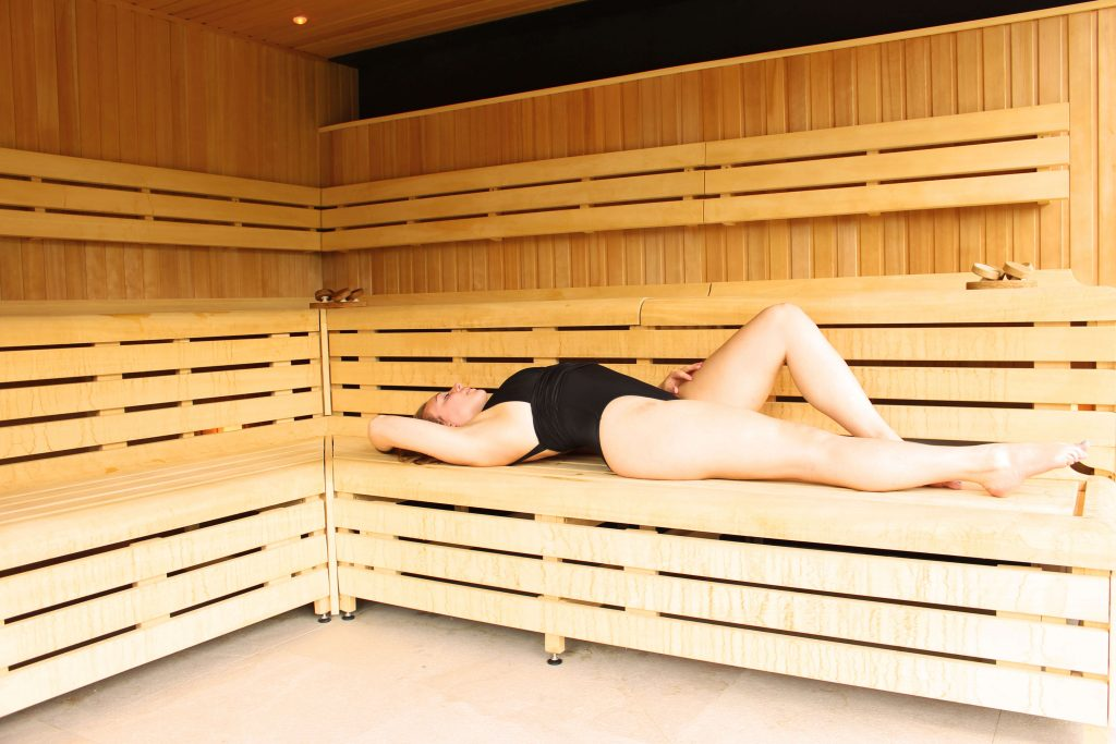 sauna rudding park