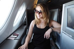 How We Flew Business Class For Less
